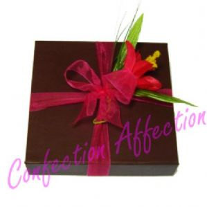 Hand Finished Belgian Chocolates Square Box